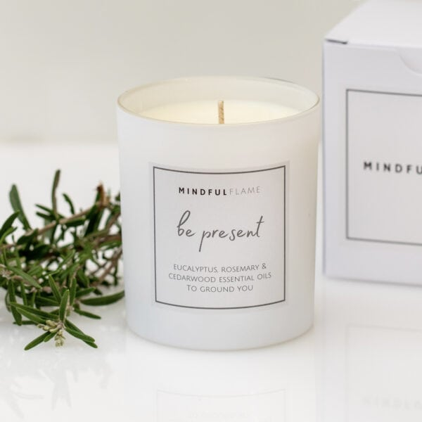 be present wellbeing candle