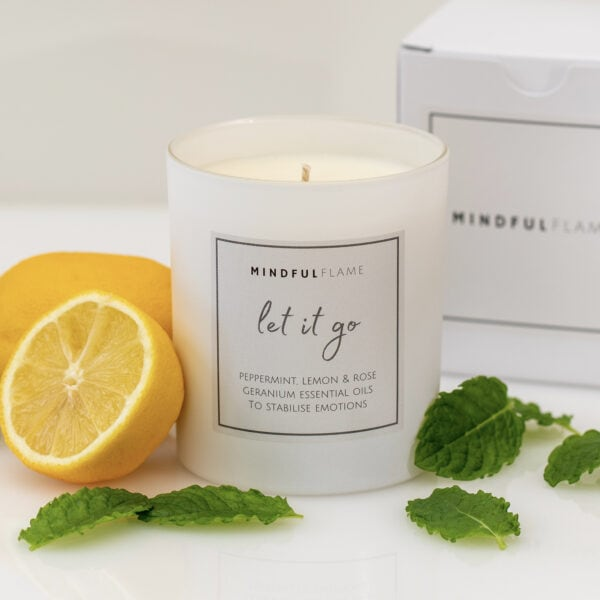 let it go wellbeing candle