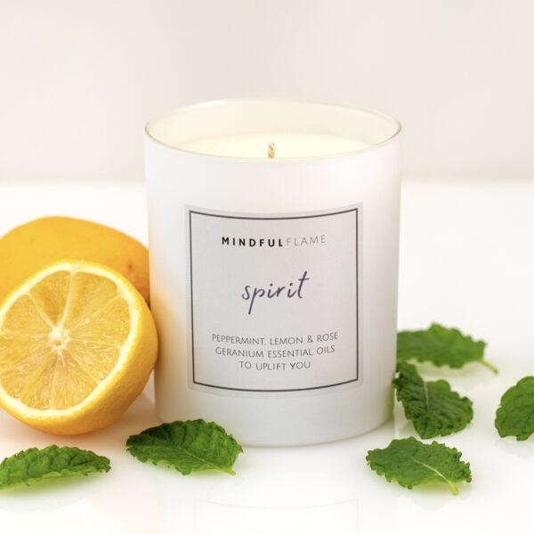 spirit wellbeing candle