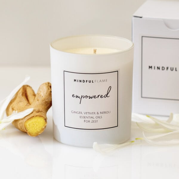 empowered wellbeing candle
