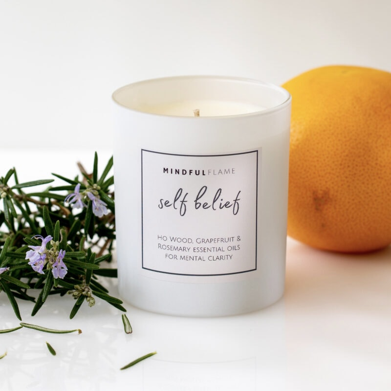 self belief candle