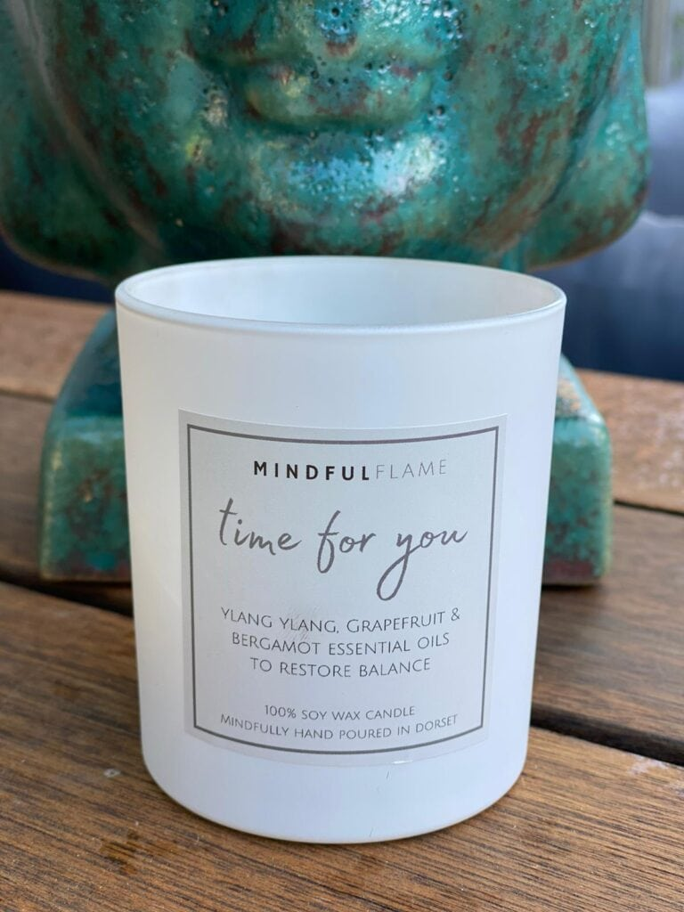Mindful Flame candle