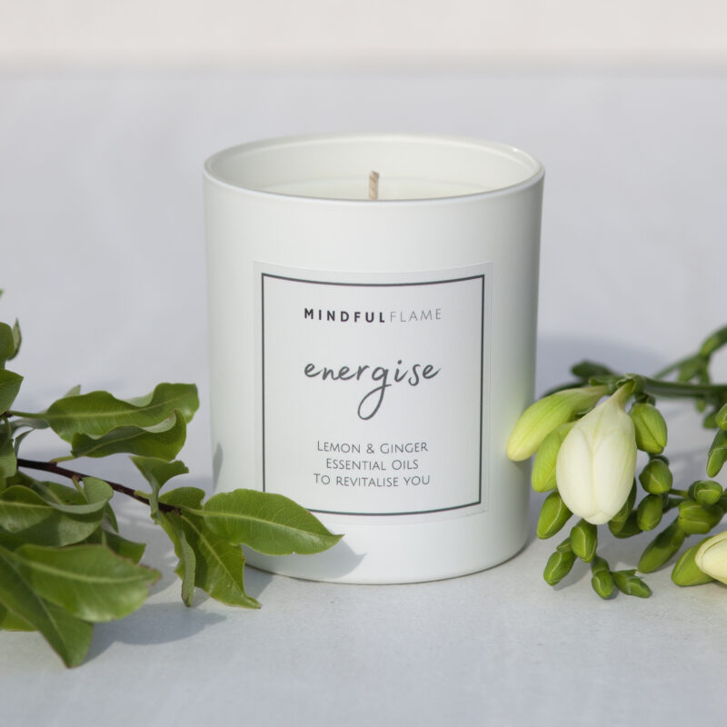 energise wellbeing candle