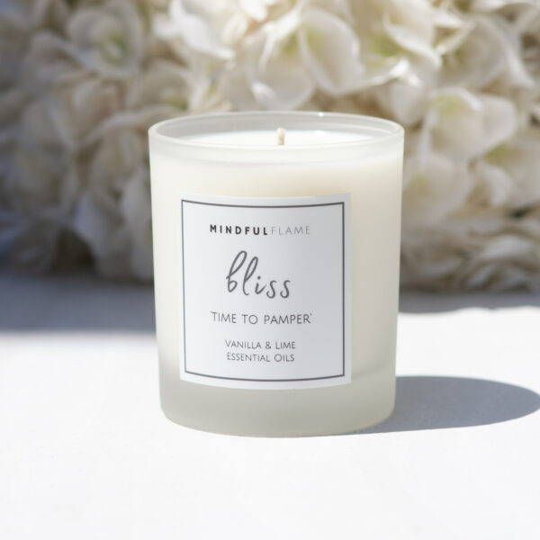 bliss wellbeing candle